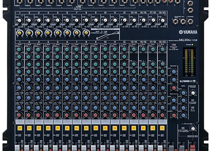 Mixer Yamaha MG206c - 1