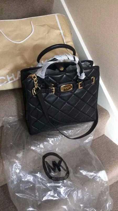 MK Black New Quilted Ladies Bag - 2