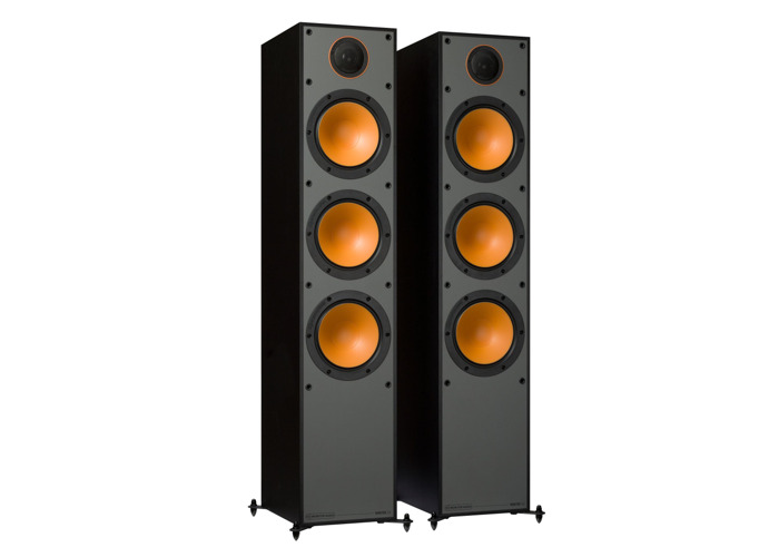 Monitor Audio Monitor 300 Black Oak Floorstanding Speakers (Pair) - 1