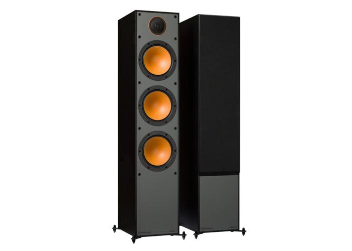 Monitor Audio Monitor 300 Black Oak Floorstanding Speakers (Pair) - 2
