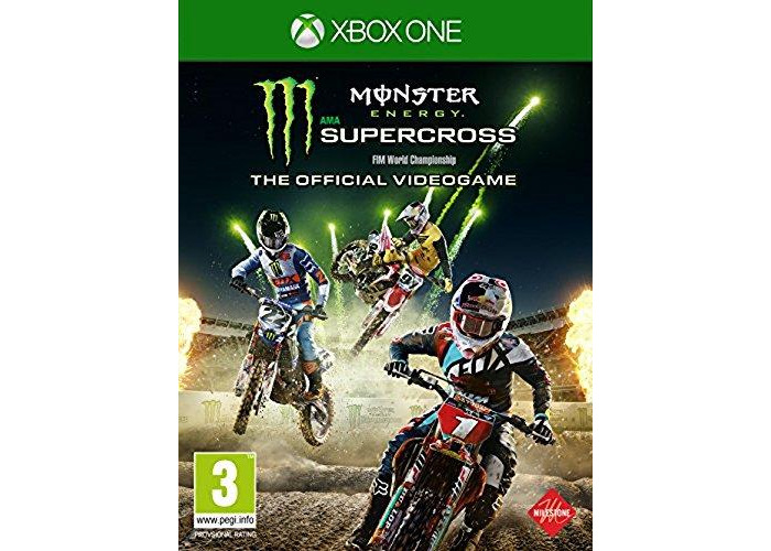 Monster Energy Super Cross - The Official Videogame (Xbox One) - 1