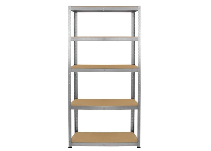 Monster Racking 1 x Galwix Galvanised Steel Shelves | 750mm(w)x300mm(d)x1500mm(h) - 2