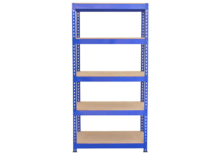 Monster Racking Q-Rax Steel Storage Shelving Bays (Blue) | 900mm x 500mm x 1825mm (w x d x h) - 2