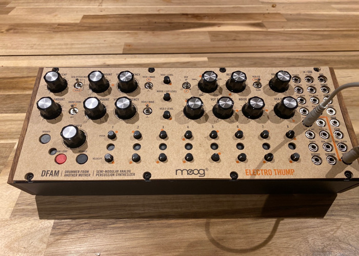 Moog DFAM Drummer from another mother synth drum machine - 1