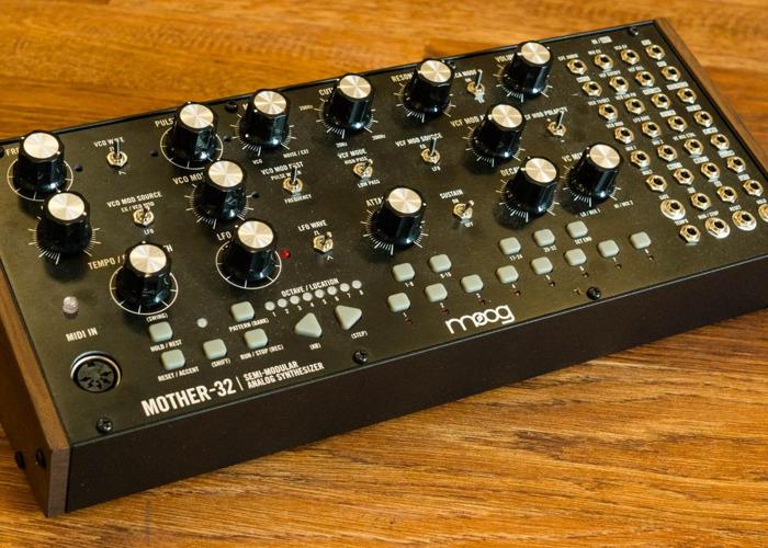 Moog Mother-32 Semi Modular Eurorack Analogue Monosynth - 1