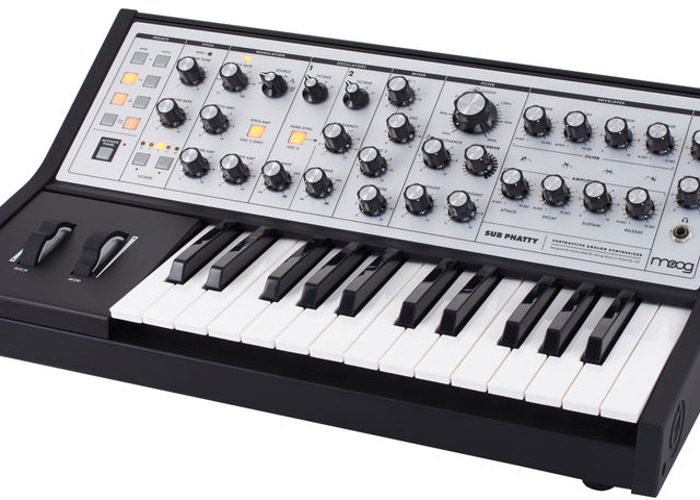 Moog Sub Phatty Mono Synthesizer - 1