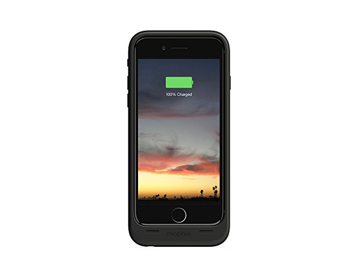 mophie juice pack air Compact Battery Case for iPhone 6/6S - Black - 1