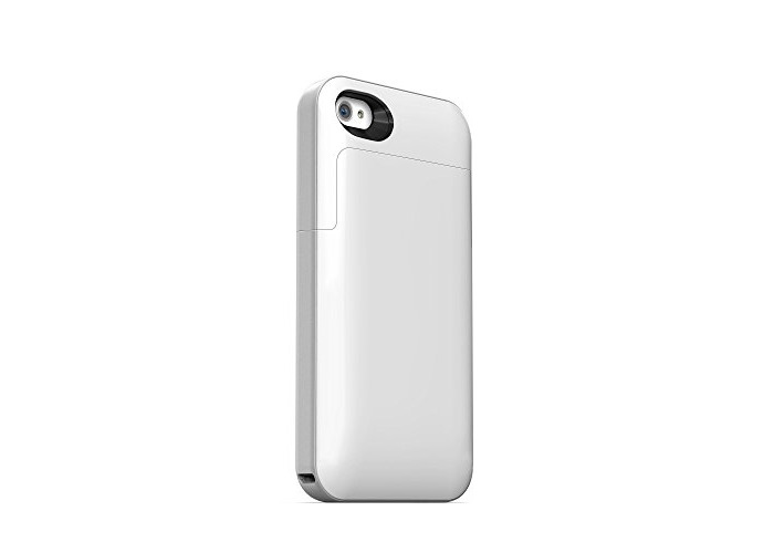 mophie juice pack air for iPhone 4s/4 (1,500mAh) - White - 1