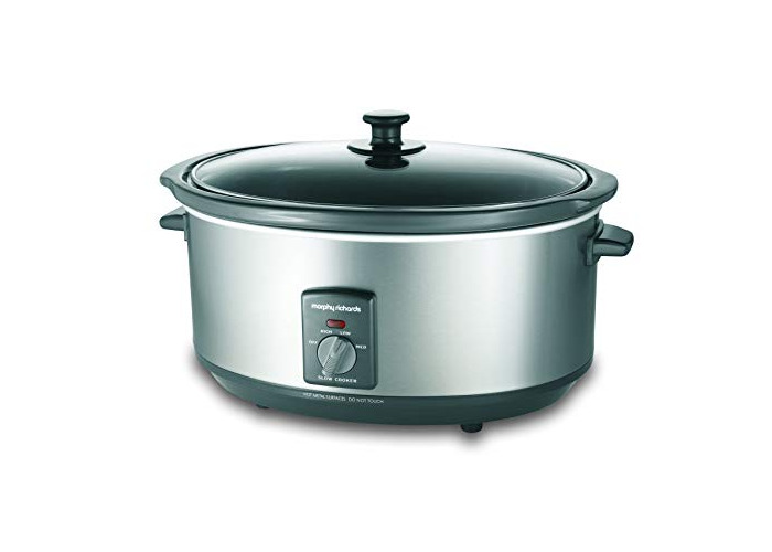 Morphy Richards 48718A - 6.5L Silver Slowcooker - 1