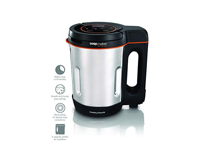 Morphy Richards Compact Soup Maker 501021 Stainless Steel 1 Litre, 900 W - 2