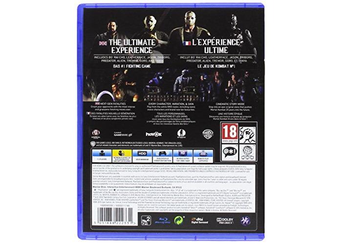 Buy Mortal Kombat Xl Ps4 Video Game Fat Llama
