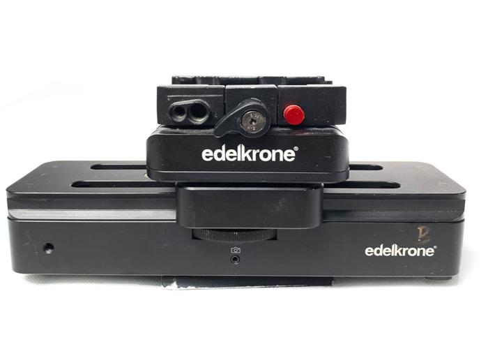 Motorised Camera Slider with QR (Canon Battery)  - 1