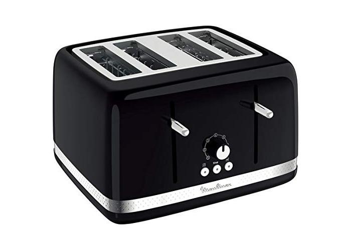 Moulinex 4 Slice Toaster (Black) - 1