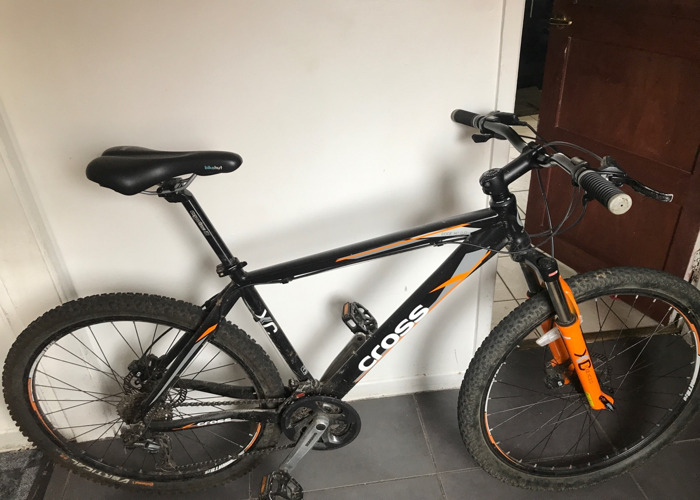 Mountain bike cross edge - 1