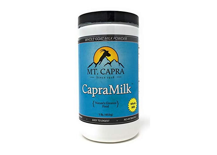 Mt. Capra Products - CapraMilk Whole Goat Milk Powder - 1 lb. - 1