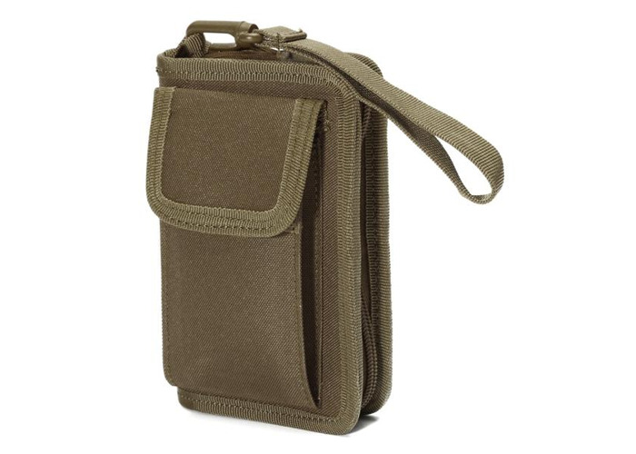 Multifunction Waterproof Wallet Credit Card Bag Phone Pouch Bag Purse Case Outdoor Nylon - 1