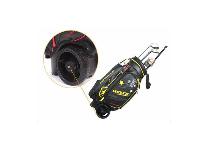 Multiple Sizes with wheels and a bag for golf clubs - 1