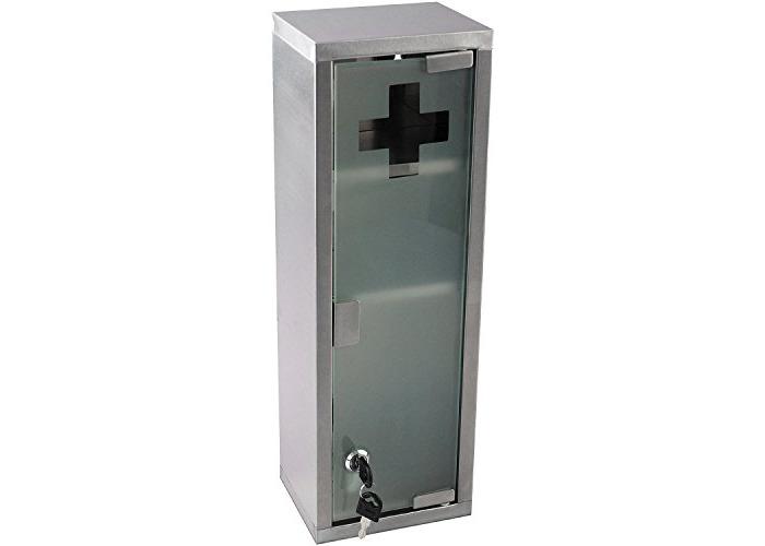 Multistore 2002 Stainless Steel Medicine Cabinet Bathroom Furniture Medical - 1