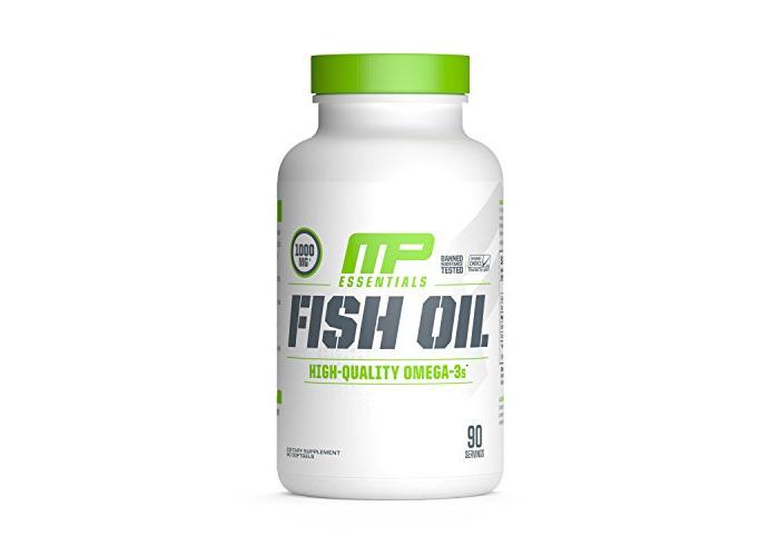 Muscle Pharm Fish Oil Capsules - Pack of 90 - 1