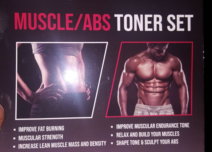 MUSCLE/ABS TONER SET - 1