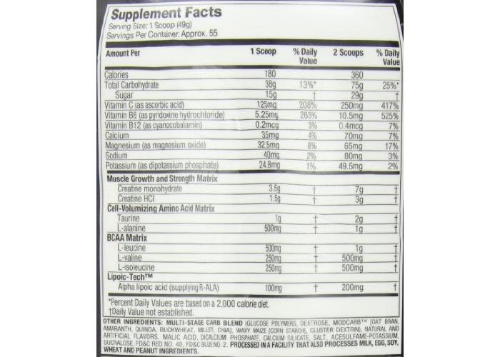 MuscleTech Cell Tech Creatine Formula, 2.72 kg, Grape - 2
