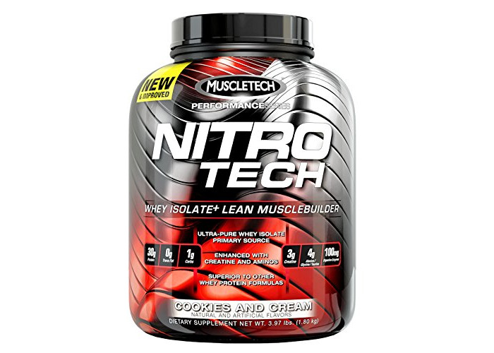Muscletech Nitro-Tech Performance Series - 1,8 kg Milk Chocolate - 1