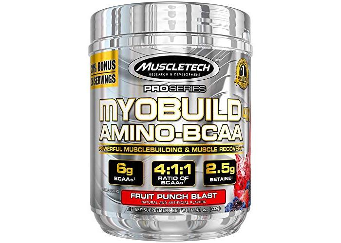 Muscletech Pro Series MyoBuild 4X Supplement, Fruit Punch Blast - 1