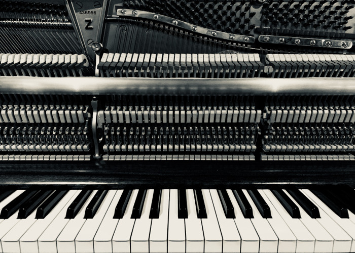 MUSIC STUDIO for DRY HIRE with STEINWAY UPRIGHT PIANO - 24/7 - 1