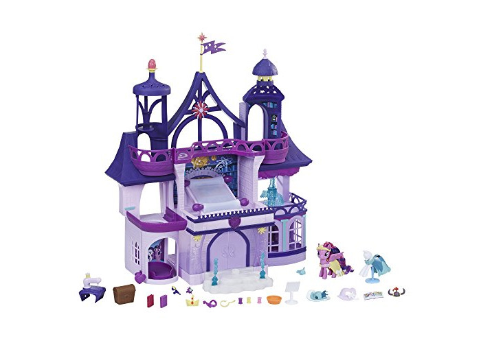My Little Pony Toy – Magical School of Friendship Playset with Twilight Sparkle Figure - 1