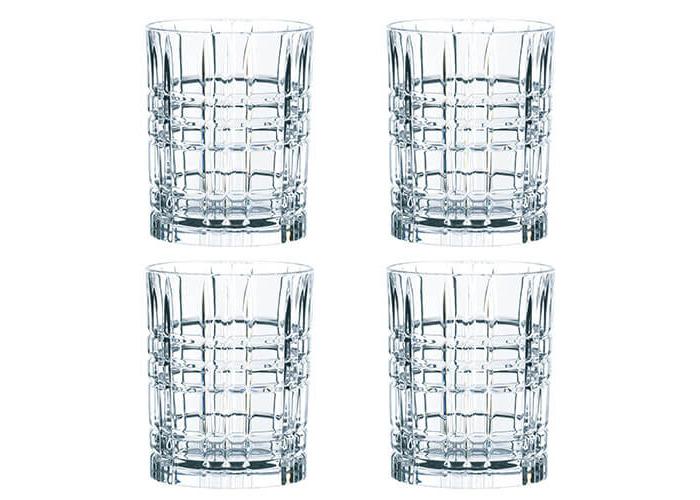 Nachtmann Square Whiskey Tumbler Set Of 4 - 1
