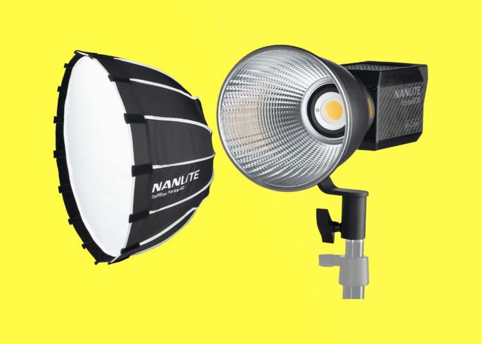 Nanlite 60B Bi-Colour LED Light + Softbox 60 (Superior to Aputure) - 1