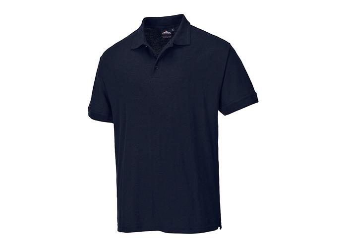 Naples Polo Shirt  DrkNav  Medium  R - 1