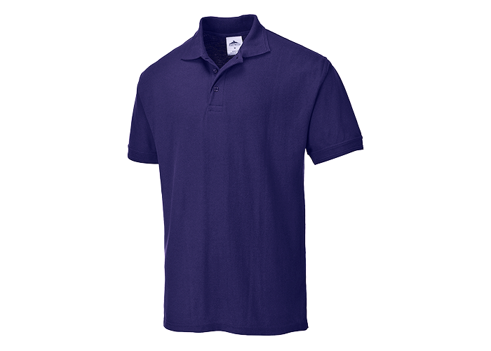 Naples Polo Shirt  Purple  Medium  R - 1