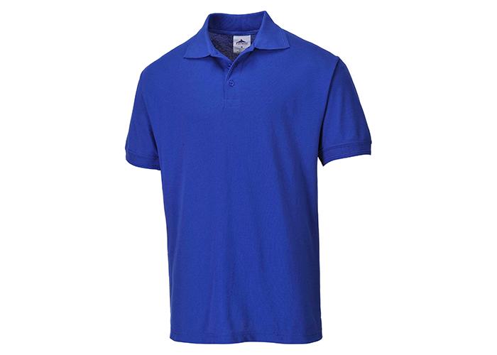 Naples Polo Shirt  Royal  Small  R - 1
