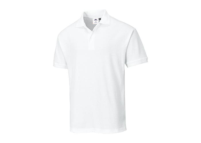 Naples Polo Shirt  White  XXL  R - 1