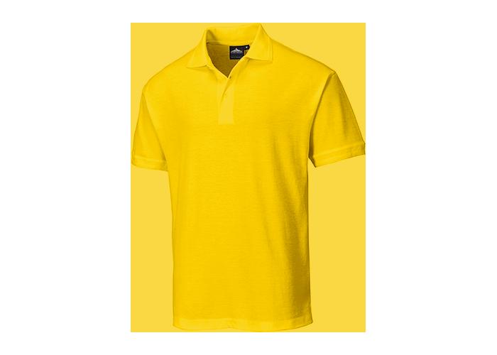 Naples Polo Shirt  Yellow  3 XL  R - 1