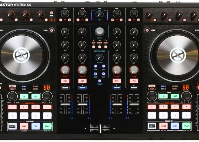 Native Instruments Kontrol S4 Traktor DJ Controller - 1