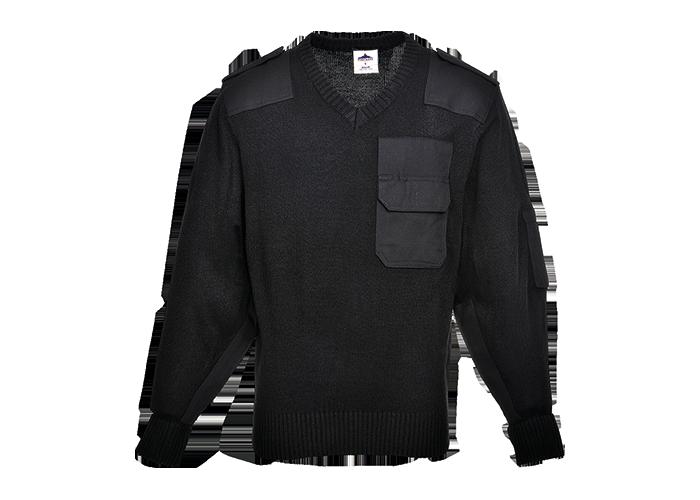 NATO Sweater  Black  Medium  R - 1