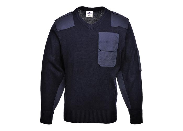 NATO Sweater  Navy  Medium  R - 1