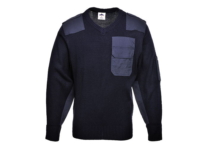 NATO Sweater  Navy  XL  R - 1