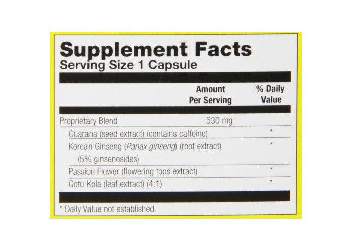 Natural Balance, Guarana, Extra Strength, 60 Capsules - 2