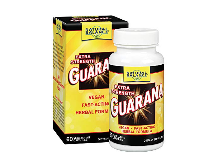 Natural Balance, Guarana, Extra Strength, 60 Capsules - 1