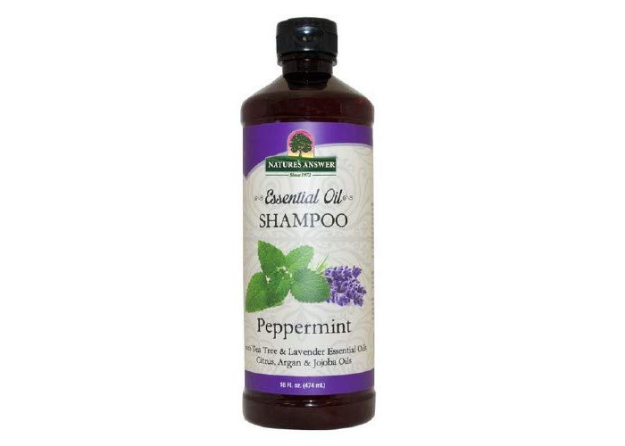 Nature's Answer Essential Oil Shampoo, Peppermint 16 Oz - 1