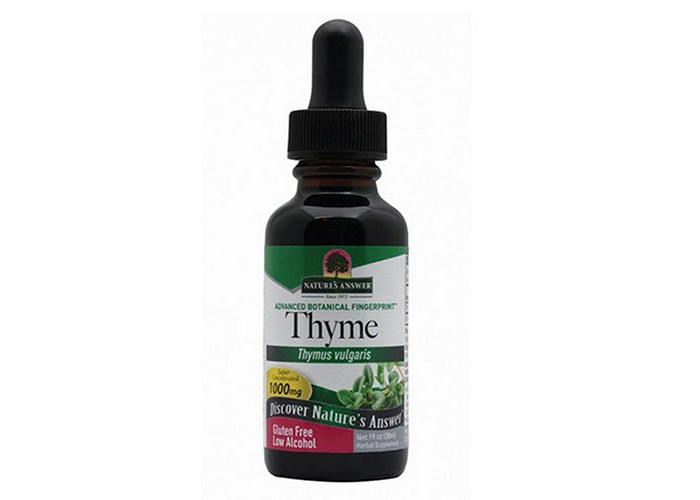 Nature's Answer, Thyme, Low Alcohol, 1,000 mg, 1 fl oz (30 ml) - 1