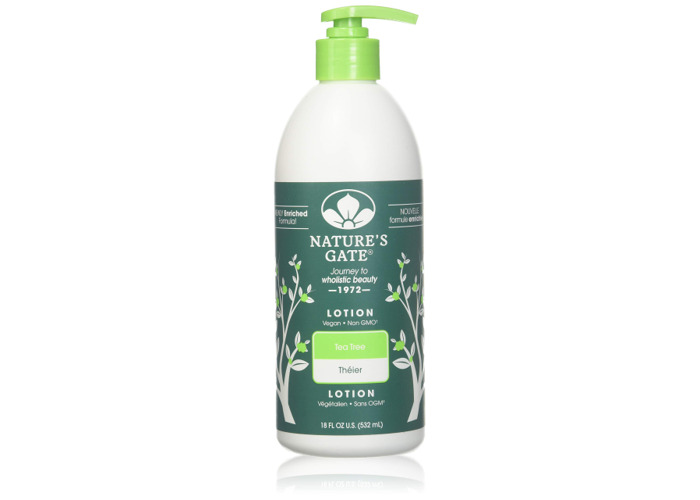 Natures Gate Hair and Skin Care 18 fl.oz/532 ml (Lotion, Tea Tree) - 2