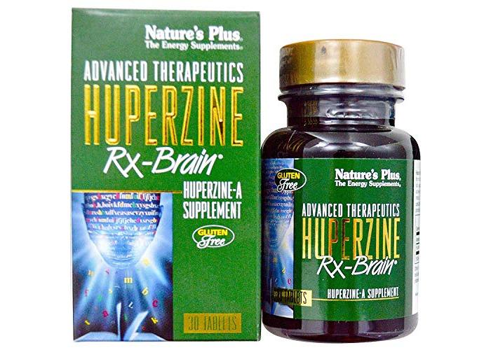 Nature'S Plus Huperzine Rxbrain 50 Mcg 30 Tablets - 1