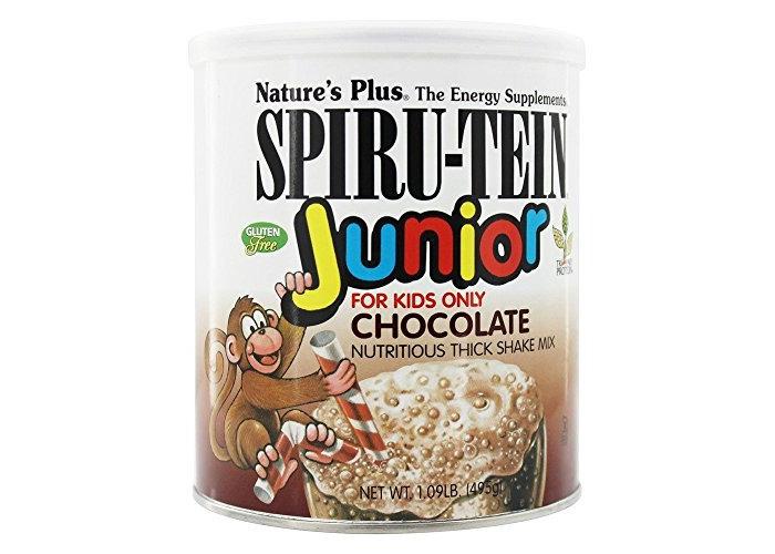 Nature's Plus, Spiru-Tein Junior, Chocolate, 1.09 lb (495 g) - 1