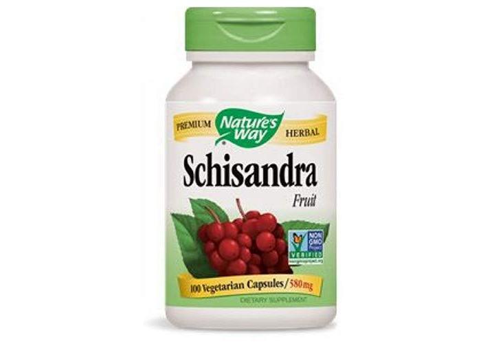 Nature's Way, Schisandra Fruit, 580 mg, 100 Vegetarian Capsules - 1