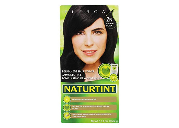 Naturtint Permanent Hair Color (165ml 2N Brown-Black) - 1