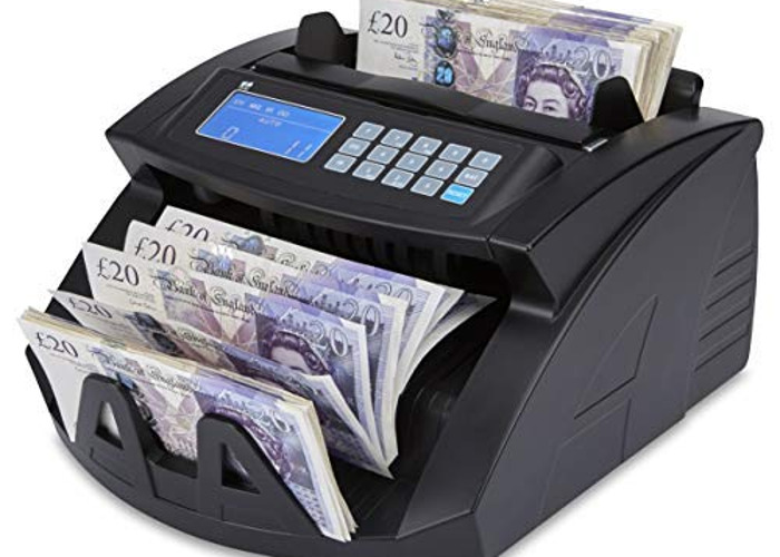 NC20i Banknote Counter & Counterfeit Detector Bill Money Cur - 2